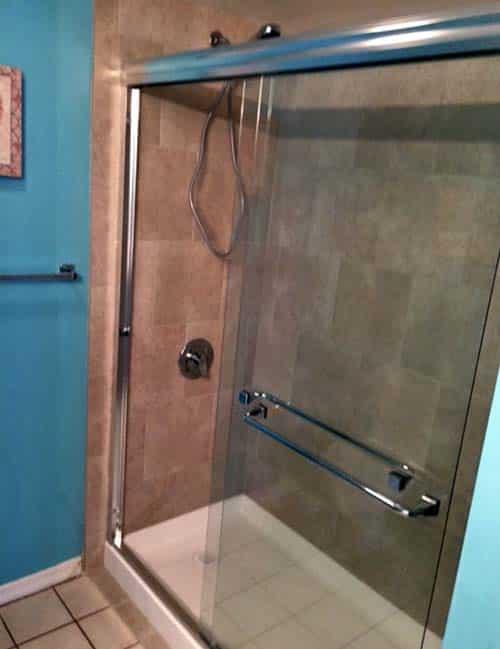 Condo Tub to Shower Conversion